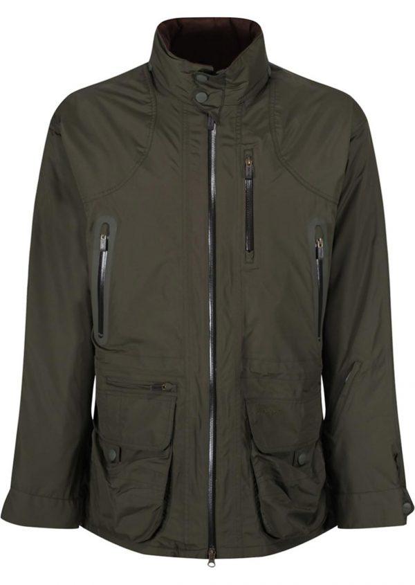 Barbour Swainby Waterproof Mens Jacket - Olive