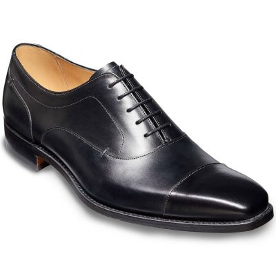 Barker Liam Oxford Shoes - Black calf