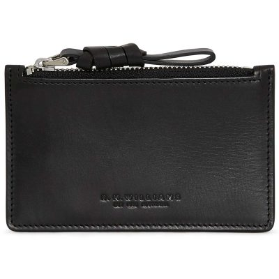 RM Williams Ladies Zip Coin / Card Purse - Black