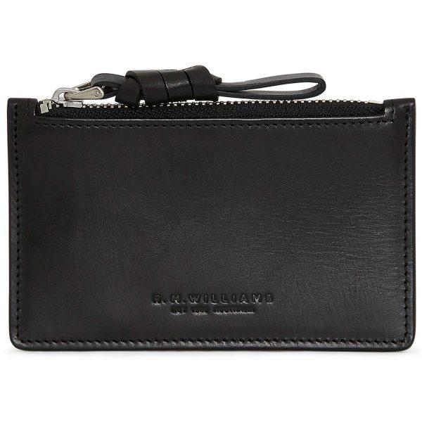 RM Williams Ladies Zip Coin / Card Purse - Black
