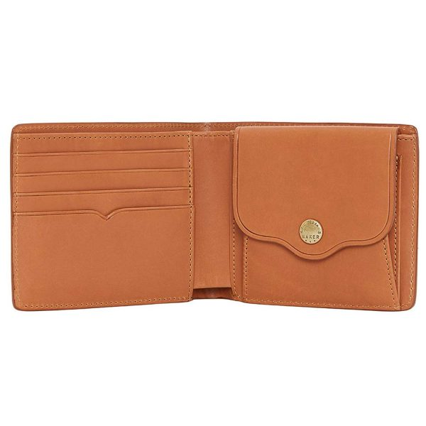 RM Williams - Men's Leather Wallet with Coin Pocket - Tan