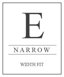 Shoe E Fitting Narrow Width Fit