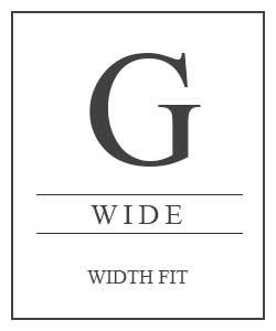 Shoe G Fitting Wide Width Fit