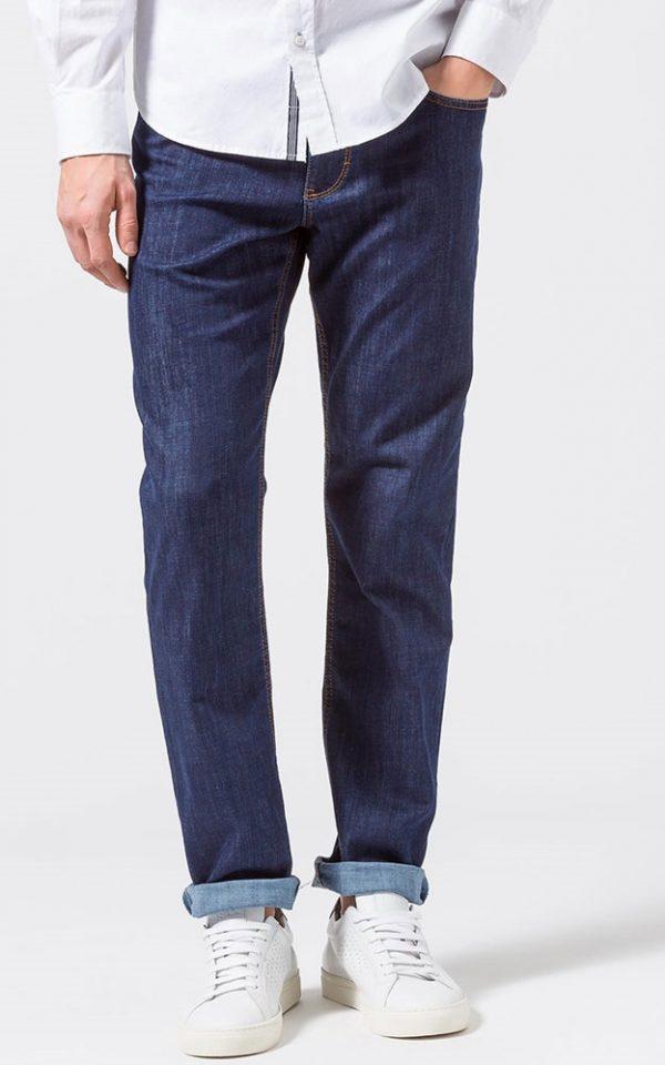 Brax Cooper Jeans - Mens Masterpiece Denim Regular Fit - Blue-Black
