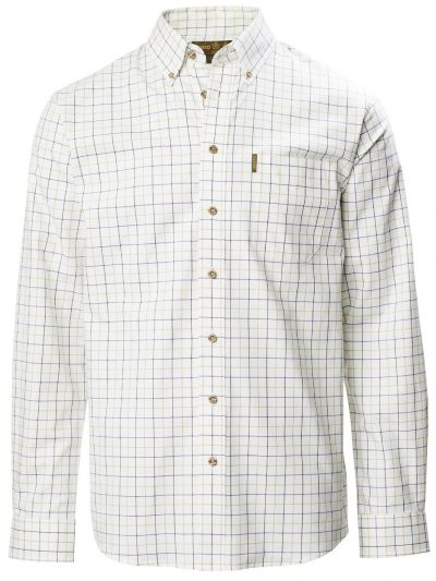 MUSTO Shooting Shirt - Mens Classic Button Down - PCF Tattersall Check