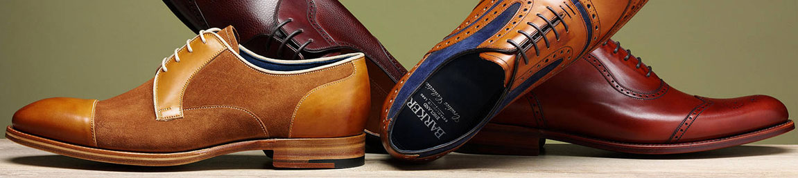 Barker Shoes Official Stockist Leicester