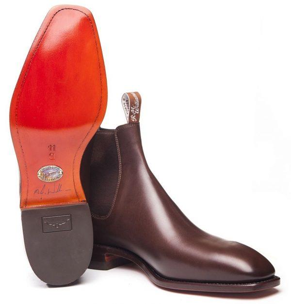 RM Williams Men's Signature Craftsman Boots - Dark Tan