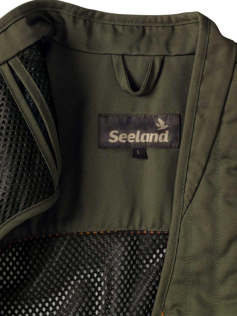 SEELAND Waistcoat - Mens Skeet II - Olive Night