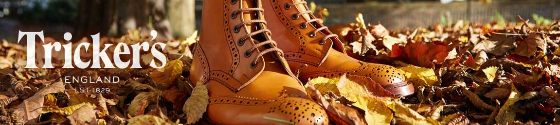 Tricker's Shoes & Boots Official Stockist Leicester