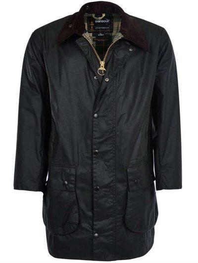 BARBOUR Wax Jacket - Mens Border 6oz - Sage