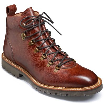 Barker Glencoe Men's Hiking Boots - Cherry Grain