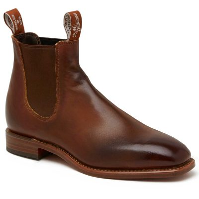 RM WILLIAMS Boots - Men's Chinchilla - Bordeaux