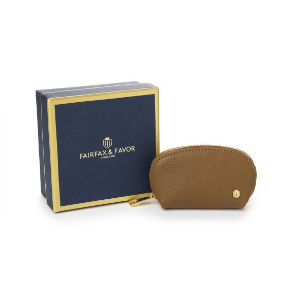 Fairfax & Favor Chatham Coin Purse - Tan