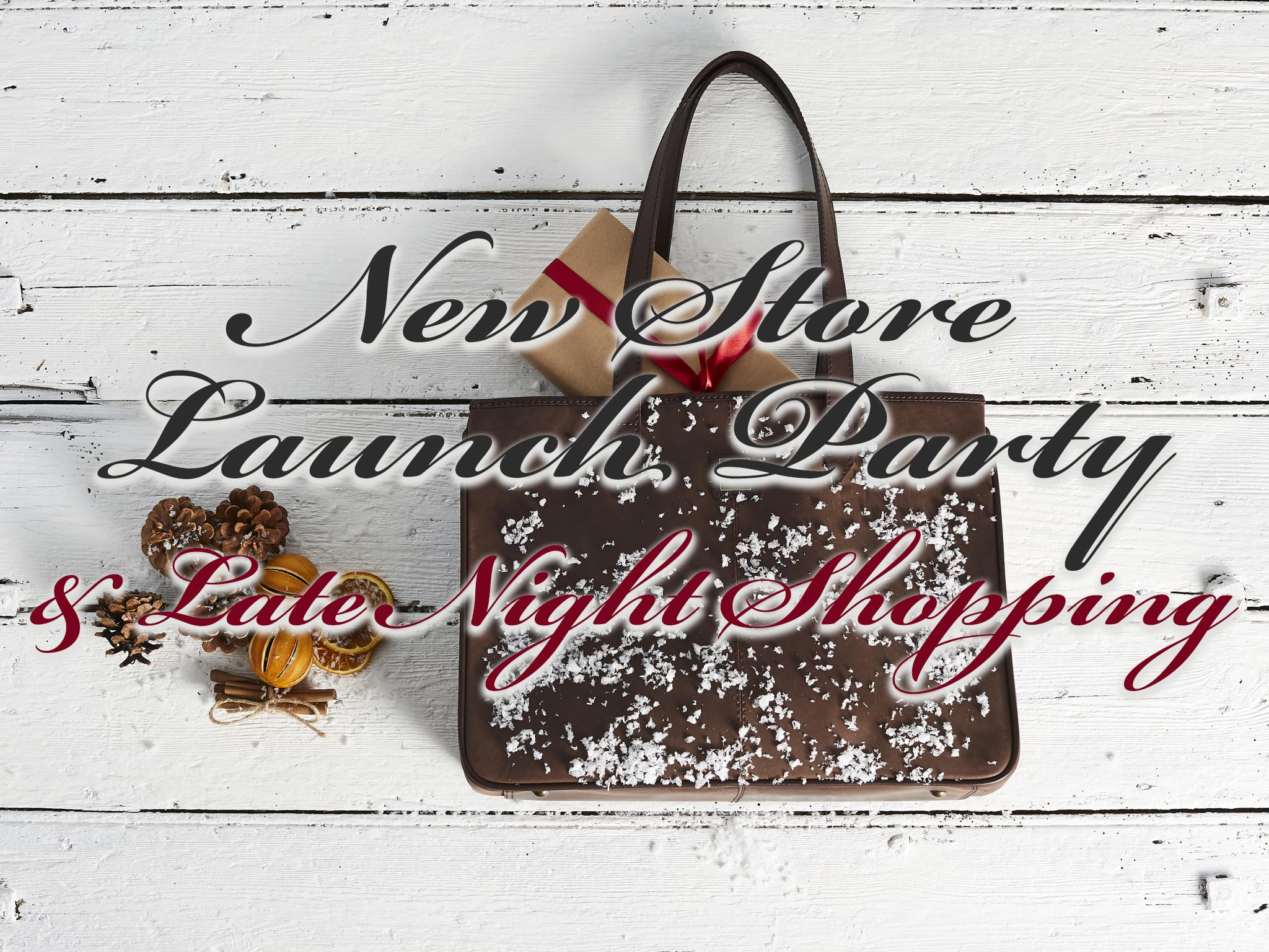 New Store Launch Party & Late Night Shopping