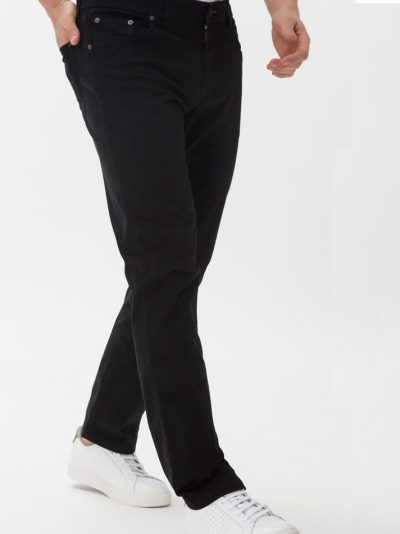 BRAX Chinos - Mens Cooper Fancy Cotton - Perma Black