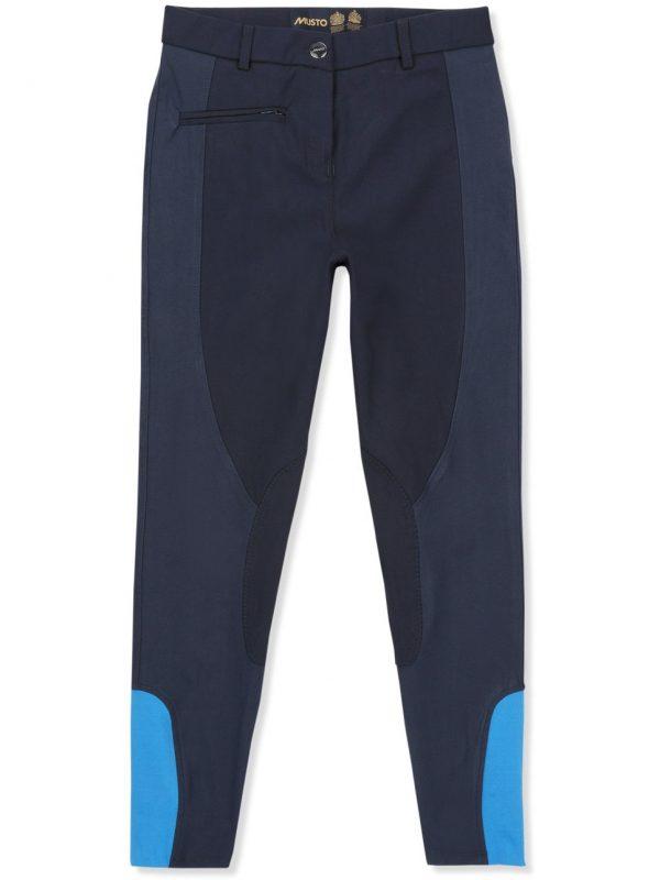 MUSTO Jodhpurs - Ladies Essential Breeches - True Navy