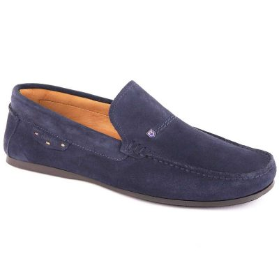 Dubarry Suede Loafer - Mens Tobago - French Navy