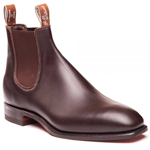 RM WILLIAMS Boots - Men's Comfort Craftsman - Chestnut