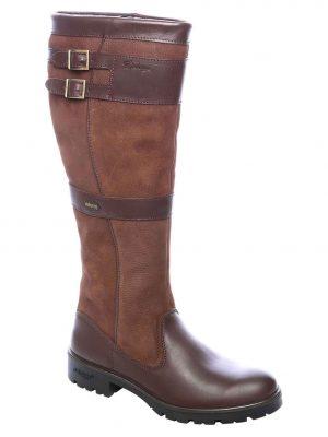 DUBARRY Longford Boots - Ladies Waterproof Gore-Tex Leather - Walnut