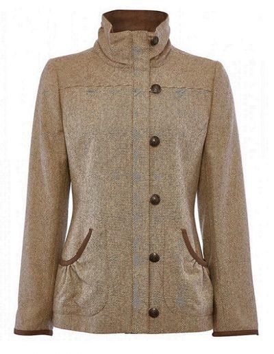 Dubarry Bracken Ladies Tweed Jacket - Sable