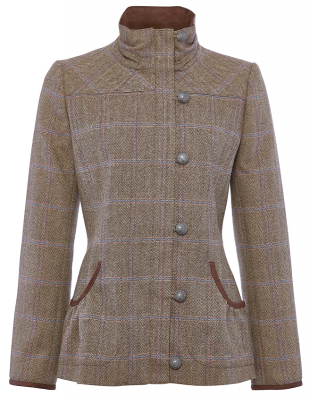 Dubarry Bracken Ladies Tweed Jacket - Woodrose