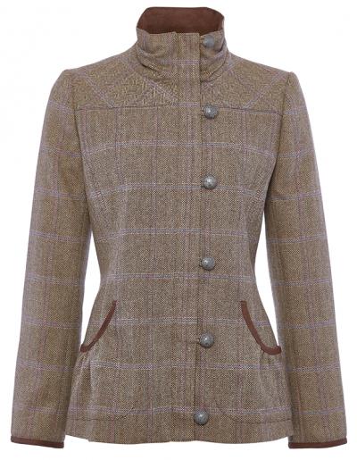 Dubarry Bracken Ladies Tweed Jacket - Woodrose
