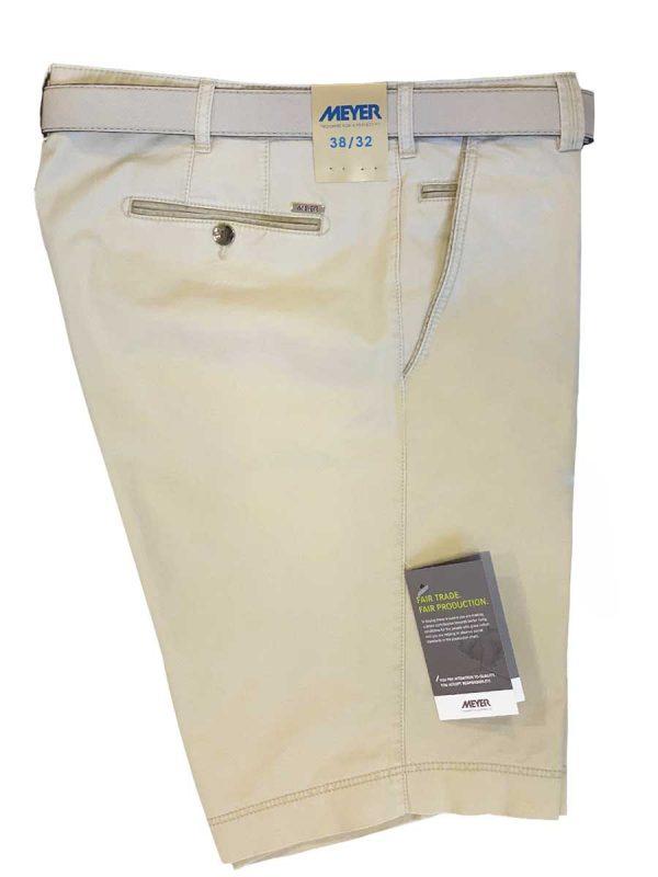 Meyer Shorts - B-Palma 5001 Cotton - Beige