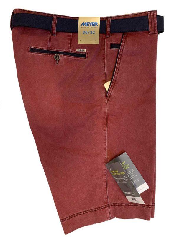 Meyer Shorts - B-Palma 5001 Cotton - Red