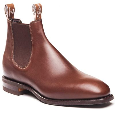 RM WILLIAMS Boots - Men's Comfort Craftsman - Dark Tan