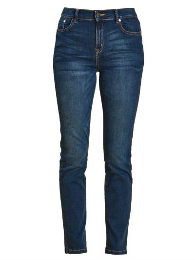 Barbour Ladies Essential Slim Fit Jeans - Worn Blue