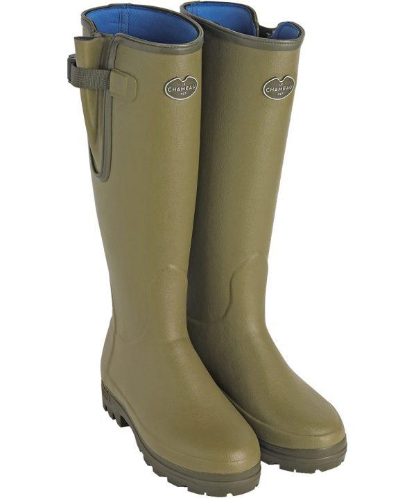 Le Chameau - Ladies Vierzonord Neoprene Lined Boots - Vert Vierzon
