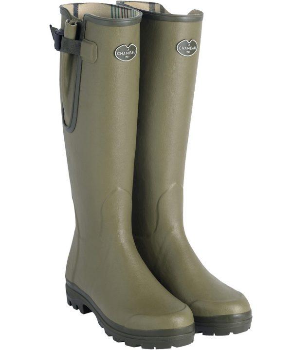 Le Chameau - Ladies Vierzonord Boots - Vert Vierzon