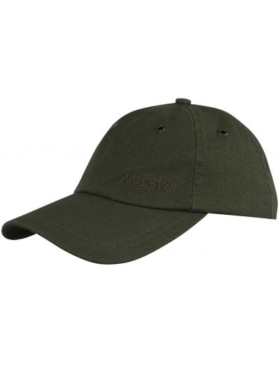 MUSTO Cap - Evolution Canvas Crew - Dark Moss