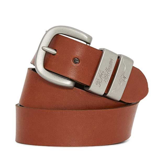 """RM WILLIAMS Belt *Limited Edition* - Mens Drover Leather 1.25"""" - Caramel"""