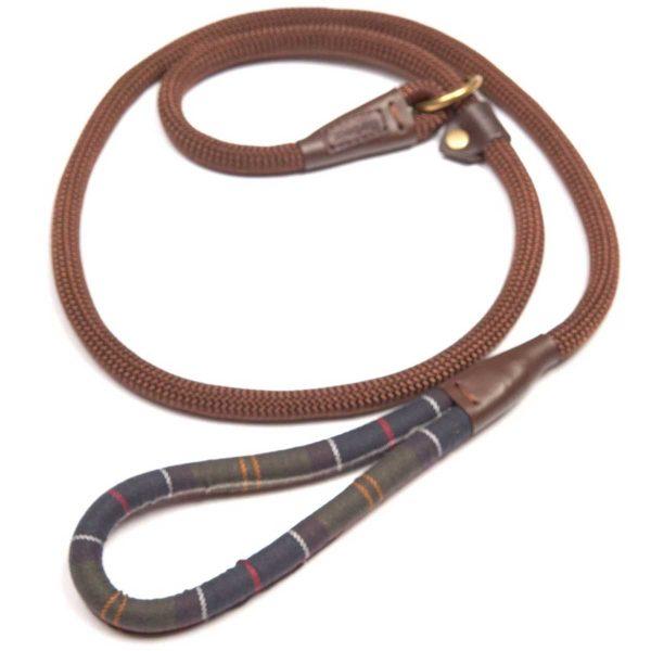 BARBOUR Dog Slip Lead - Classic Tartan