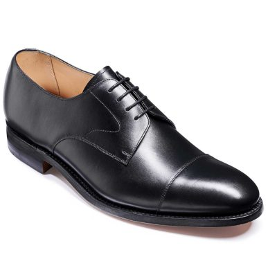 Barker Morden Shoes - Toe cap Derby - Black Calf
