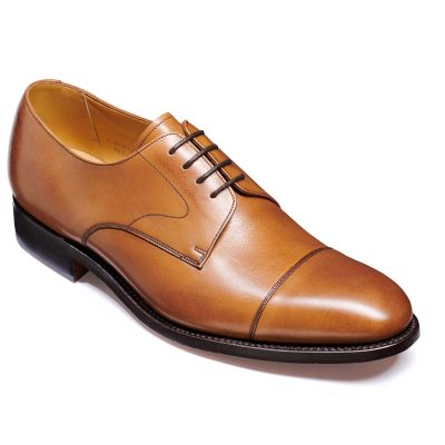 Barker Morden Shoes - Toe cap Derby - Conker Calf