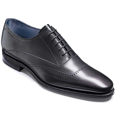 Barker Thomas Shoes - Oxford Style - Black Calf