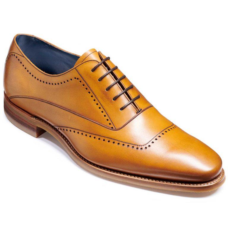 Barker Thomas Shoes - Oxford Style - Cedar Calf
