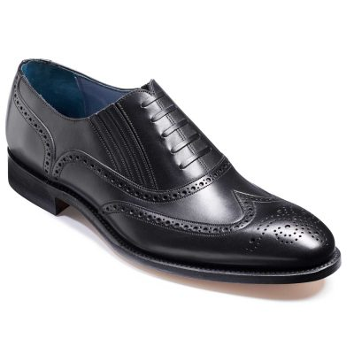 Barker Timothy Shoes - Oxford Brogue - Black Calf