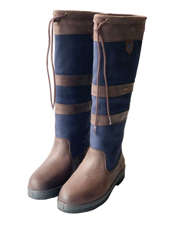 Dubarry Galway Boots - Navy/Brown