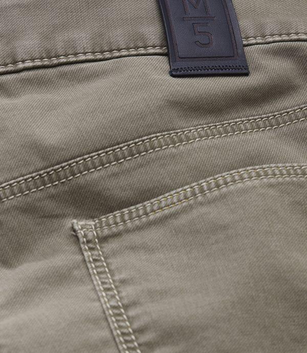 Meyer Chinos - M5 Slim - 6115 Hand Finished Lightweight Cotton Jeans - Beige