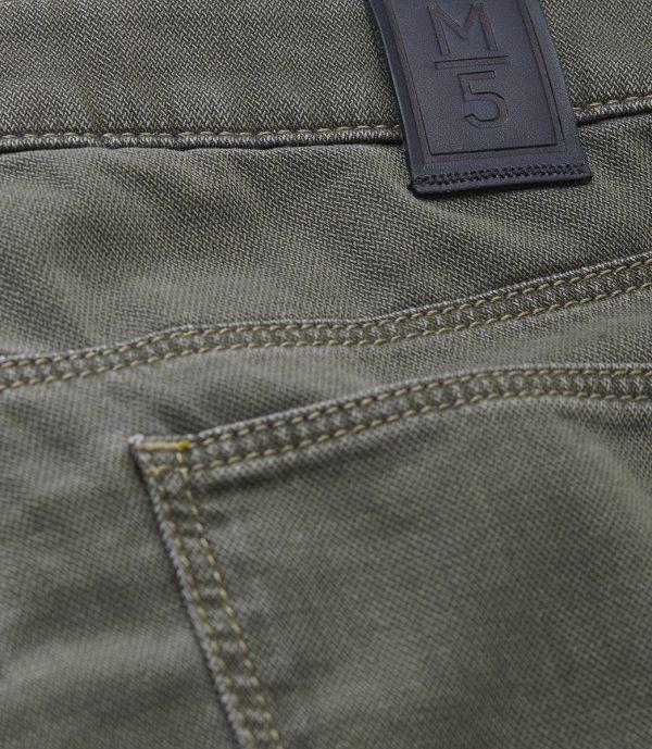 Meyer Chinos - M5 Slim - 6117 Hand Finished Five Pocket - Beige