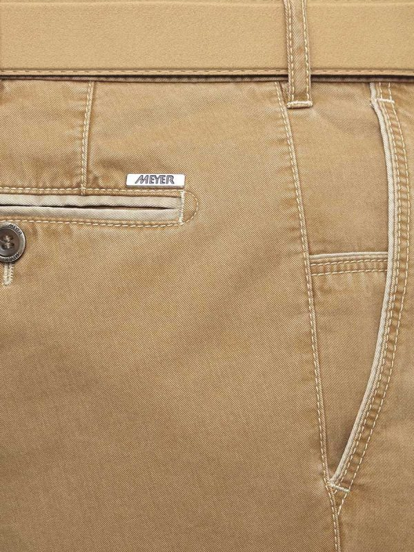 Meyer New York 5001 New York Soft Cotton Chino - Camel
