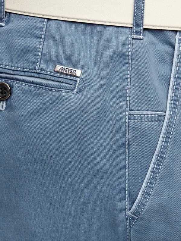 Meyer New York 5001 New York Soft Cotton Chino - Marine