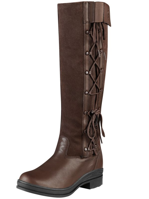ARIAT Boots - Womens Grasmere H2O Waterproof - Chocolate