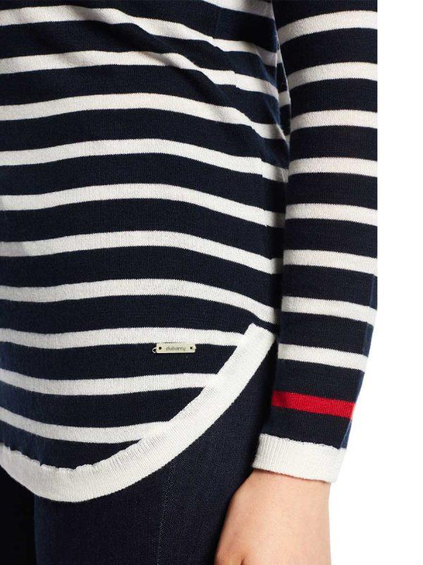 Dubarry Jumper – Ladies Abbeyside – Navy