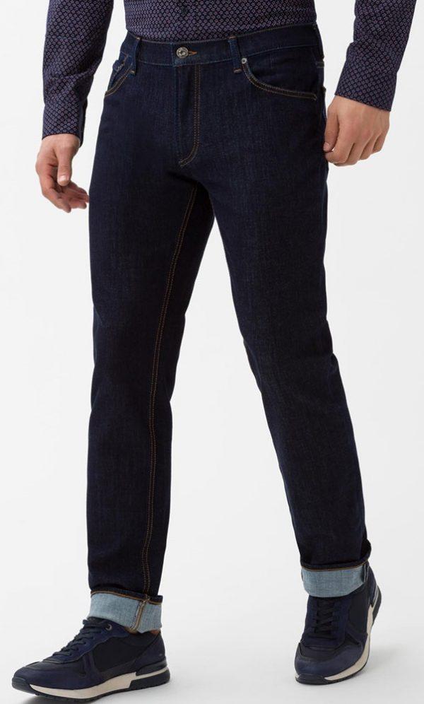 Brax-Chuck-Jeans-Mens-Denim-Hi-Flex-Superstretch-Slim-Fit-Raw-Blue
