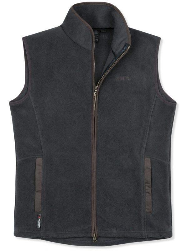 MUSTO Gilet - Mens Glemsford Polartec® Fleece - Carbon