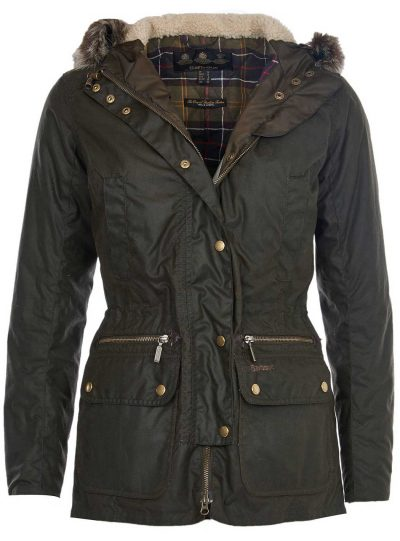 Barbour - Ladies Kelsall Parka Wax Jacket